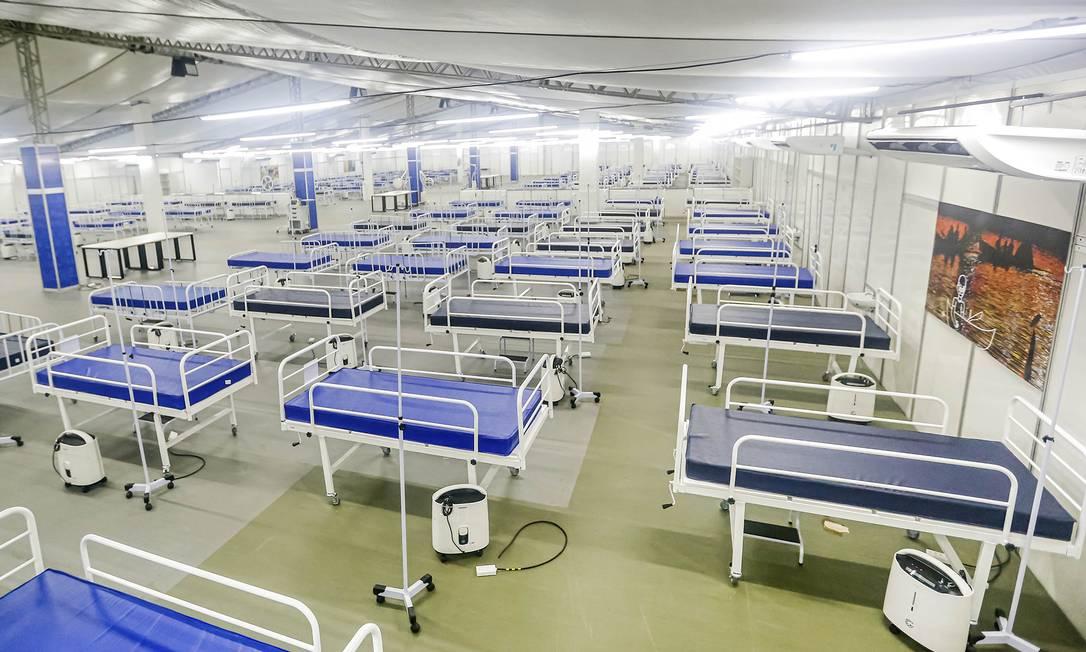 Materiais se destinavam a três hospitais de campanha que serão instalados em Pernambuco Foto: Andrea Rego Barros