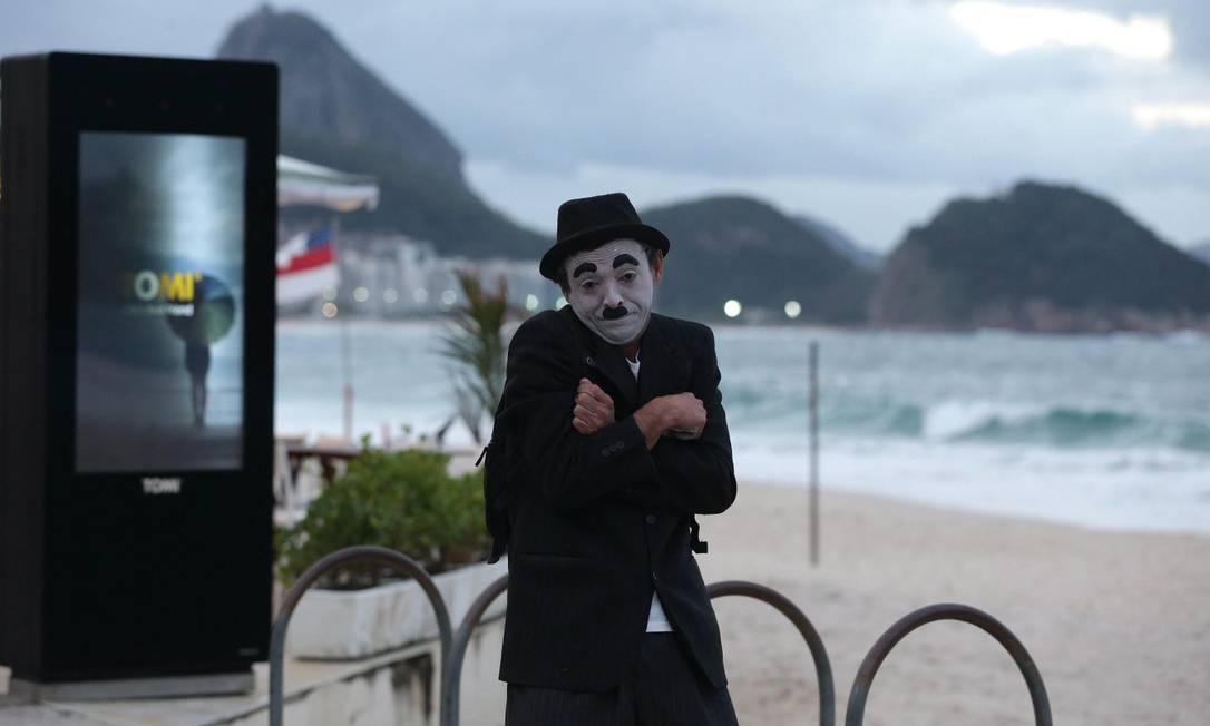 Artistas de rua formam uma das categorias mais atingidas pela crise na cultura Foto: Márcio Alves / Agência O Globo