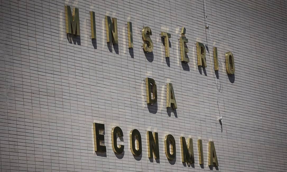 Fachada do Ministério da Economia Foto: Daniel Marenco / Agência O Globo