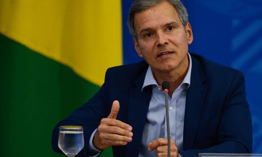 Secretário de Ciência, Tecnologia e Insumos Estratégicos do Ministério da Saúde, Denizar Vianna Foto: Agência Brasil