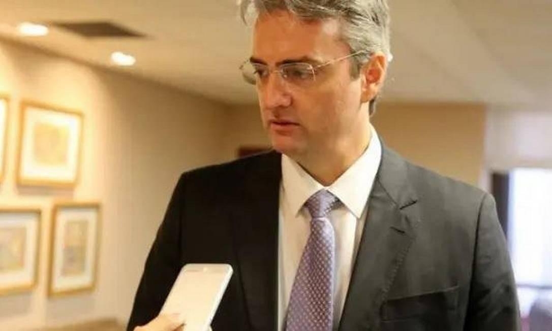 Rolando Alexandre de Souza, ex-número dois de Ramagem e agora diretor-geral da PF Foto: Divulgação / PF