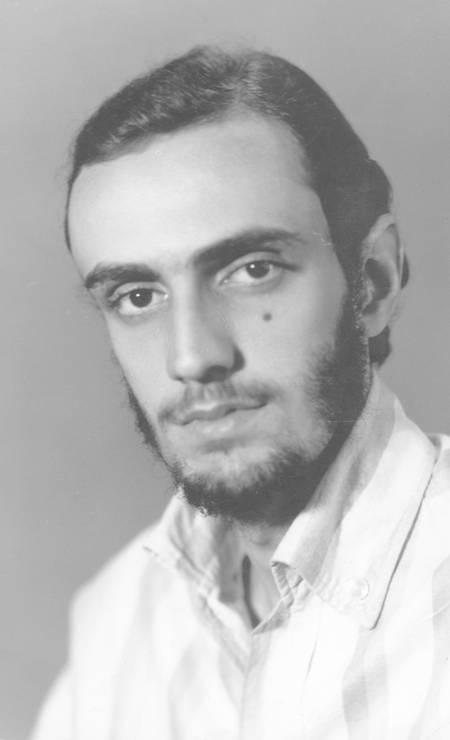 Blanc em 1968, nos tempos da faculdade de medicina, quando a música era apenas um sonho Foto: Arquivo