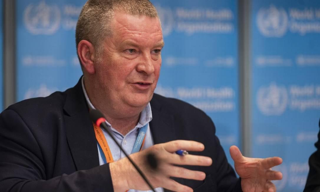 Michael Ryan é diretor do programa de emergências da Organização Mundial de Saúde (OMS) Foto: Christopher Black/OMS/Divulgação