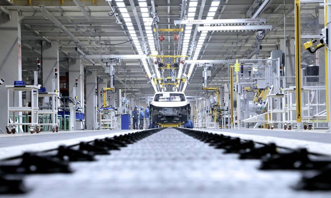 O Grupo Volkswagen suspendeu a produção de três fábricas no Brasil Foto: Divulgaçao