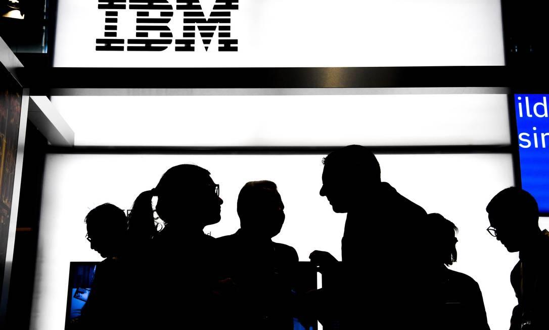 Inovação. A IBM é a empresa que mais registrou patentes nos EUA em 2019 Foto: ALAIN JOCARD / AFP