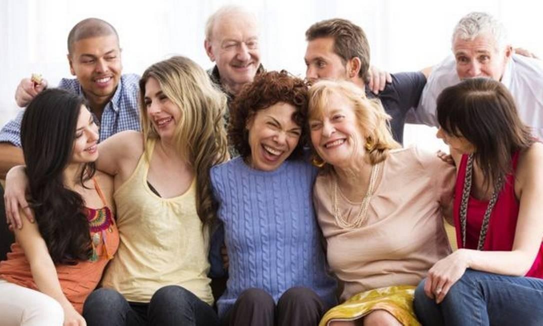 A expansão da bolha social permite que mais pessoas sejam incorporadas ao núcleo familiar, que devem manter esse relacionamento de forma exclusiva Foto: Getty Images
