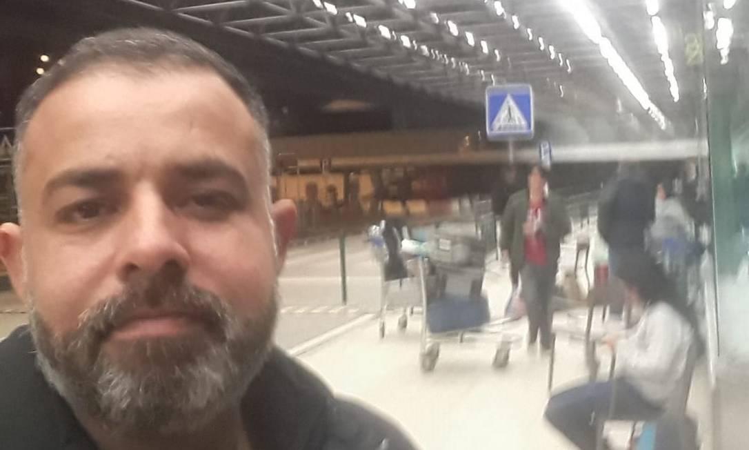 Ilker Batista não conseguiu vaga nos voos de repatriação em Portugal Foto: Reprodução