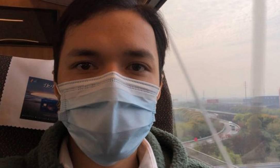 """Kenyiti Shindo se mudou para Wuhan há sete anos e avalia que cidade chinesa vive período de recomeço semelhante ao """"pós-guerra"""" Foto: Reprodução"""