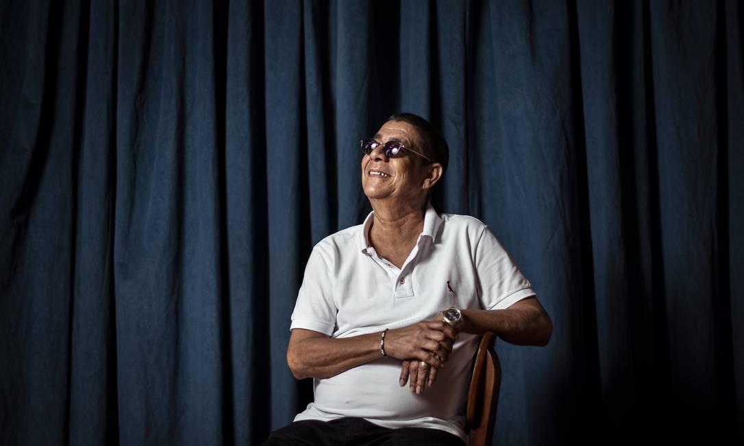 """O sambista Zeca Pagodinho, ao lançar o álbum """"Mais feliz"""", em setembro de 2019 Foto: Hermes de Paula / Agência O Globo"""