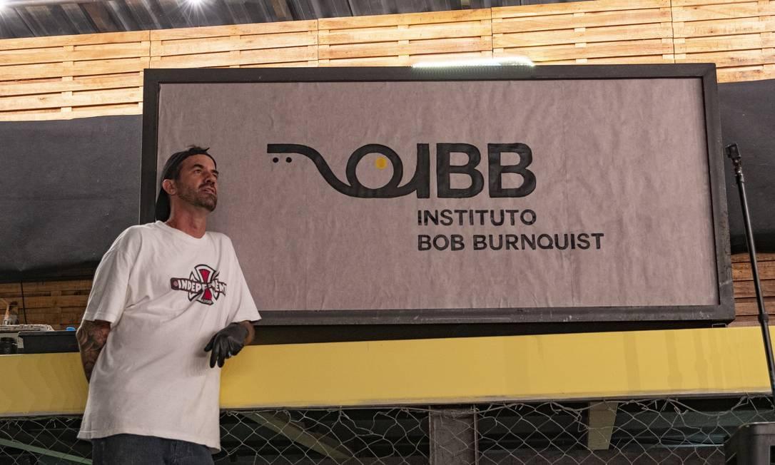 Bob Burnquist lança instituto com foco no esporte, saúde e inclusão social Foto: Divulgação