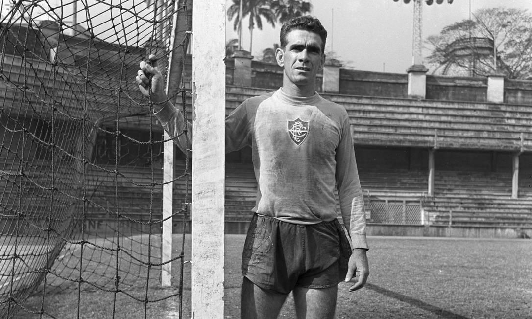 Castilho foi eleito o maior ídolo do Fluminense Foto: Foto Arquivo / Agência O Globo