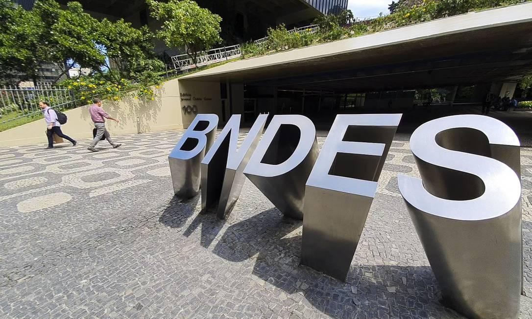 Sede do BNDES Foto: Leo Martins / Agência O Globo
