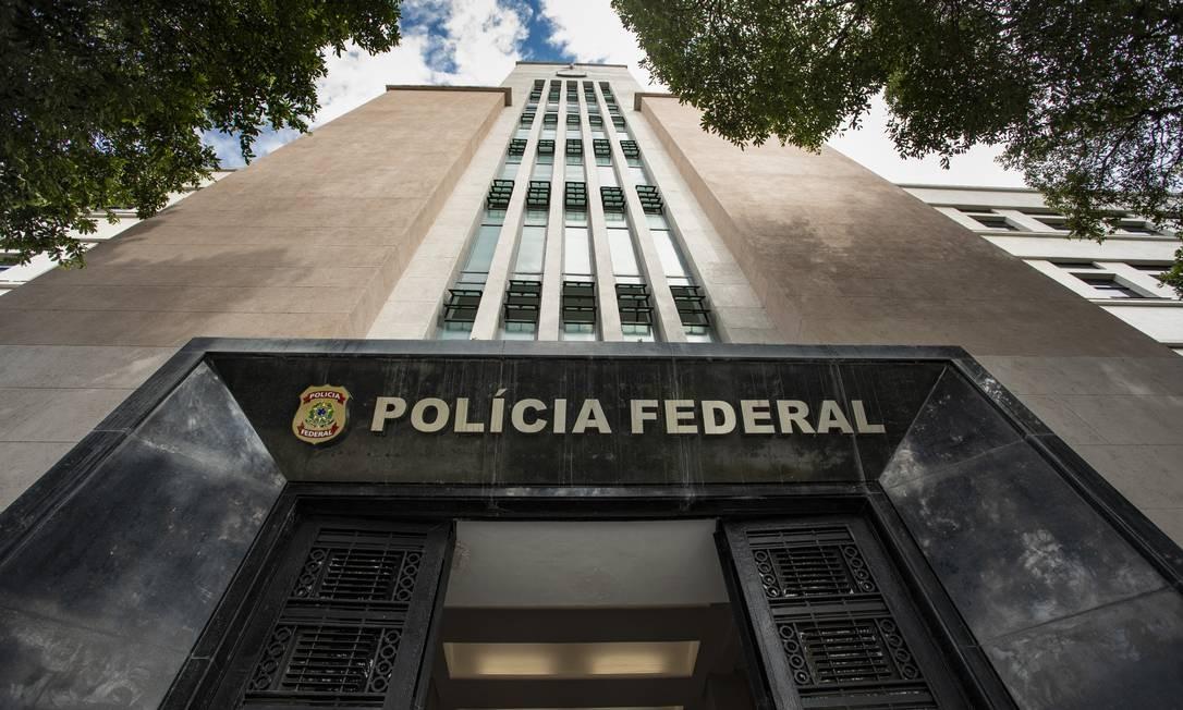 Sede da Polícia Federal (PF) no Rio de Janeiro Foto: Ana Branco / Agência O Globo