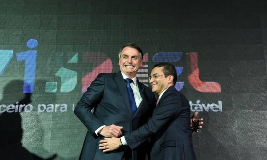 Bolsonaro e Marcos Pereira Foto: Divulgação