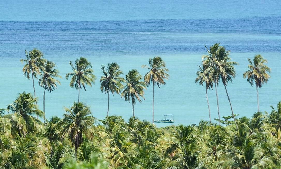 Imagem de São Miguel dos Milagres, em Alagoas Foto: Marco Ankosqui / Ministério do Turismo / Divulgação