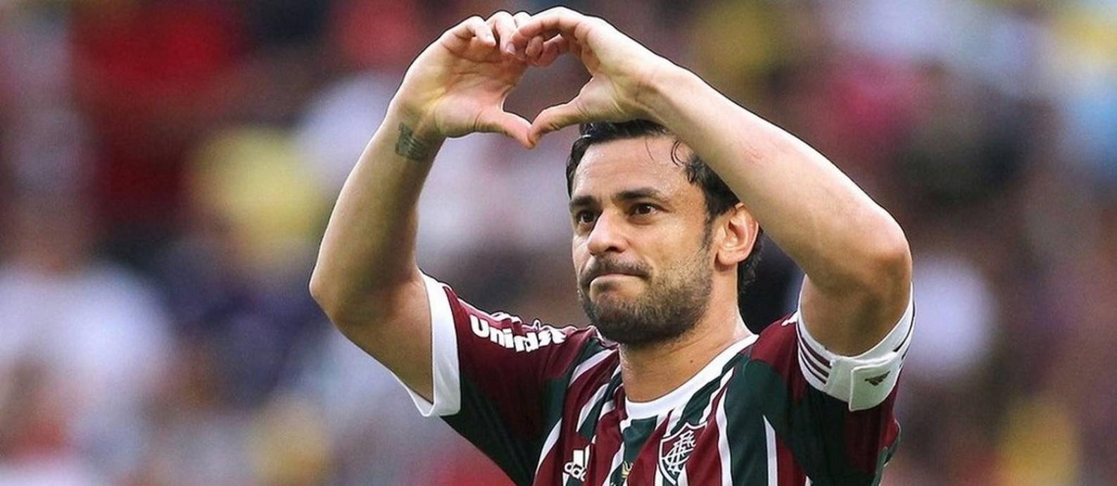 Fred é eleito um dos maiores ídolo da história do Fluminense Foto: Nelson Perez / Nelson Perez