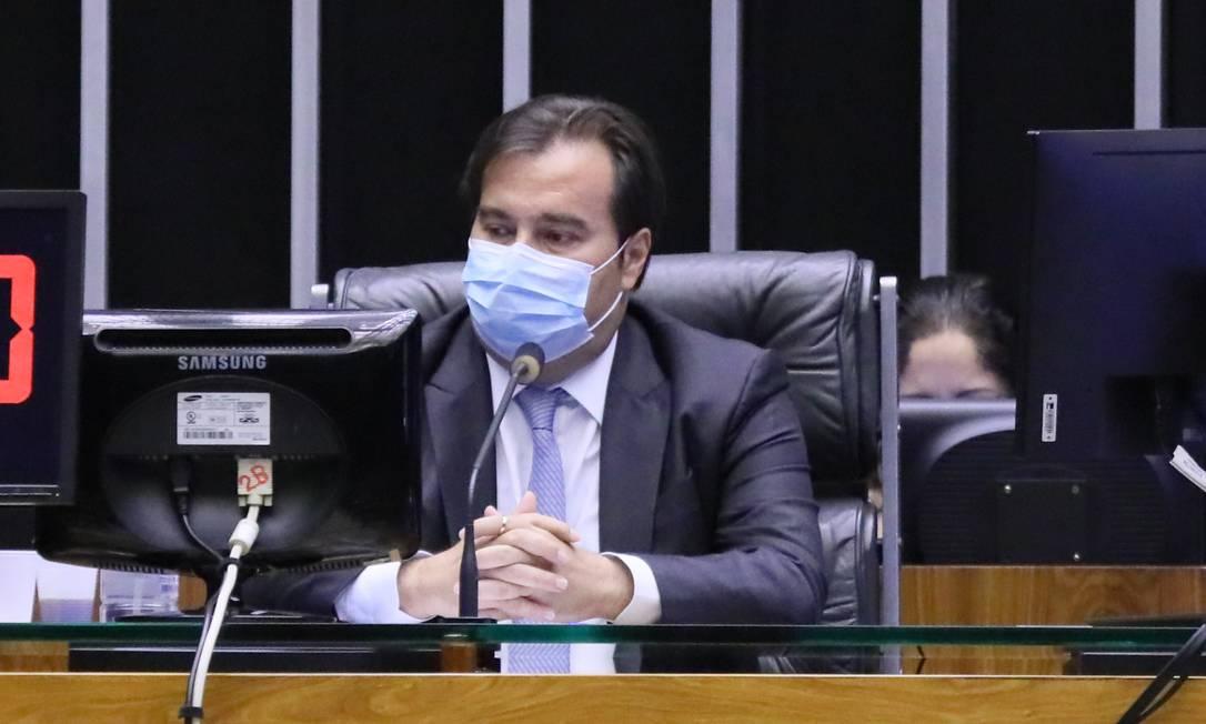 O presidente da Câmara, Rodrigo Maia (DEM - RJ) Foto: Agência Cãmara
