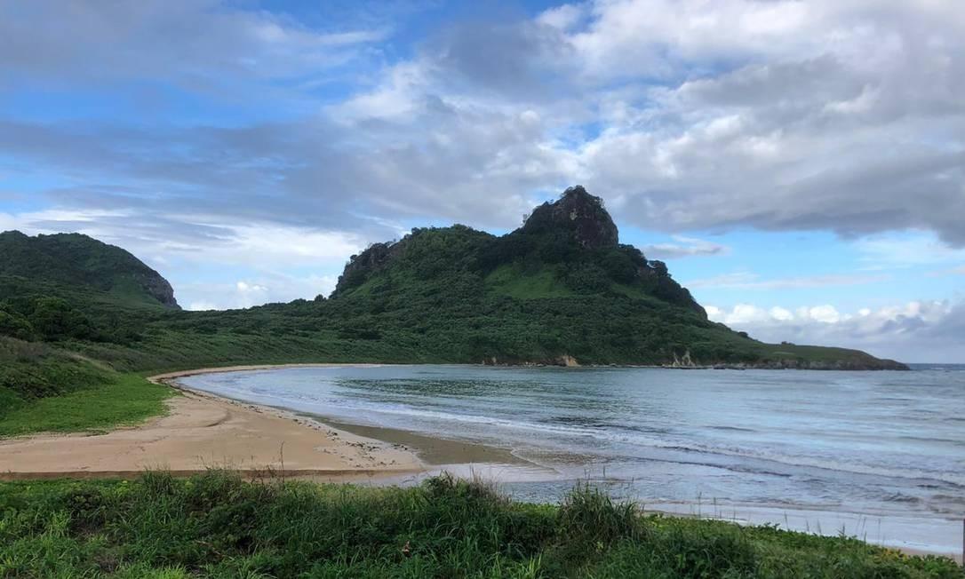 Praias desertas transformaram o cenário paradisíaco de Fernando de Noronha Foto: Reprodução