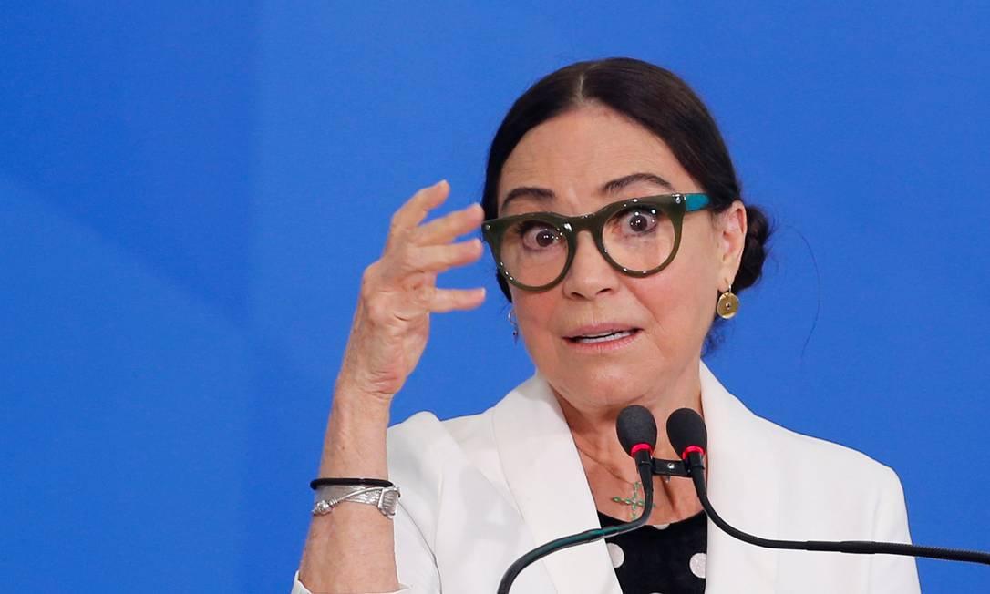 Regina Duarte, secretária de Cultura Foto: ADRIANO MACHADO / Reuters