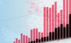 Infográfico mostra números de Covid19 no país Foto: O GLOBO