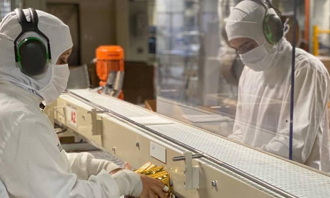 Na fábrica da Nestlé em Marília (SP), cobertura total para os funcionários Foto: / Divulgação