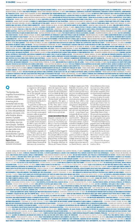 Informe especial de GLOBO Foto: Editoria de Arte