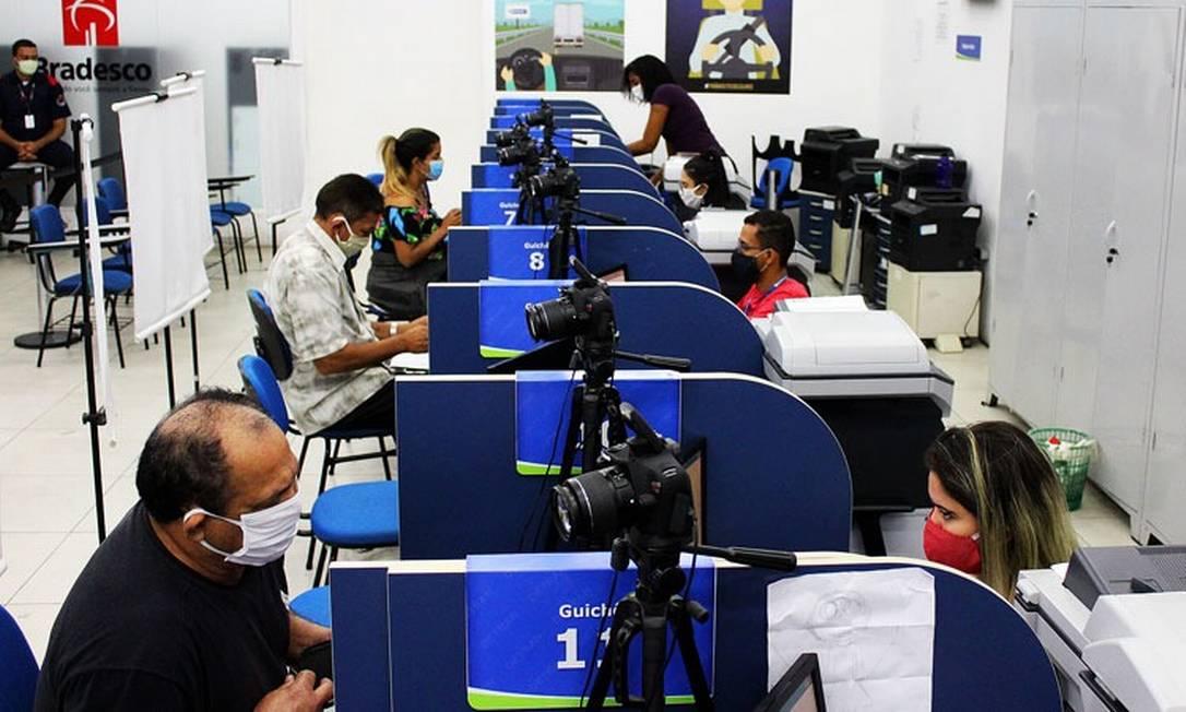 Detran-RJ tem mais postos em funcionamento e maior número de vagas a partir do dia 19 de outubro Foto: Divulgação