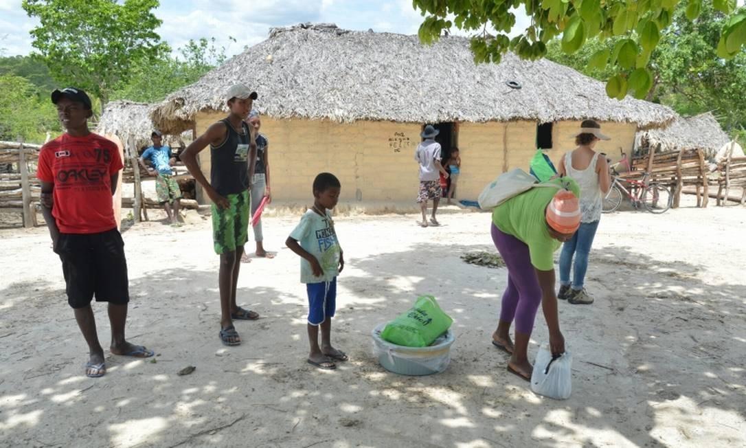Território quilombola em Alcântara, no Maranhão Foto: Agência Brasil