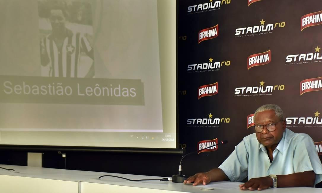 Homenagem do Botafogo ao ex-jogardor Sebastião Leônidas Foto: Botafogo/Divulgação