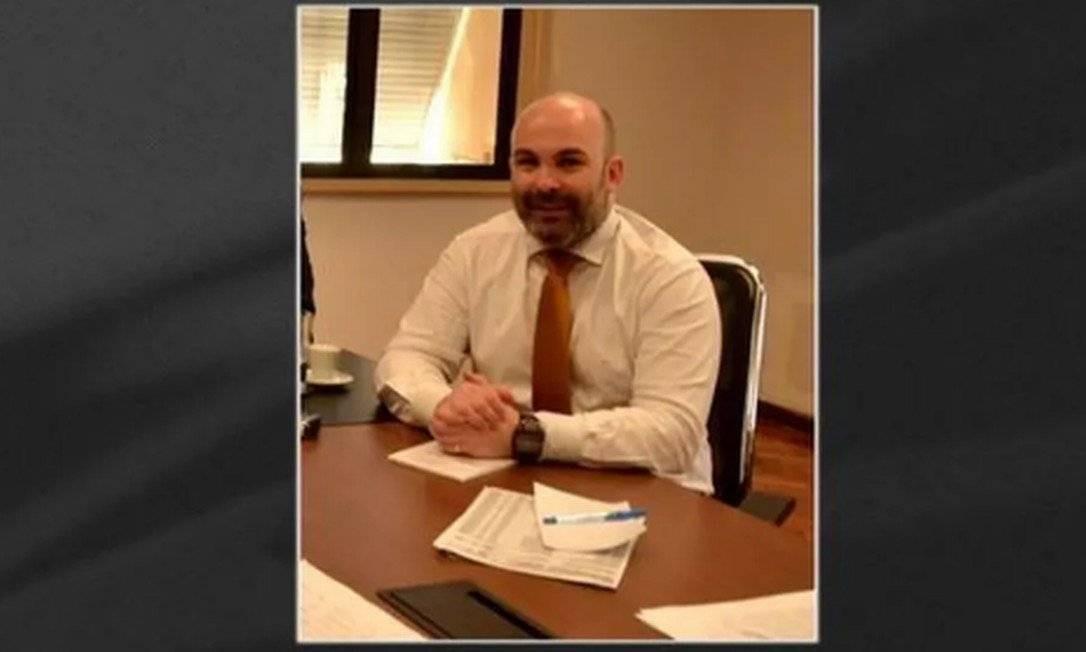 O ex-subsecretário estadual de Saúde Gabriell Neves, preso por suspeita de fraude na compra de respiradores Foto: TV Globo / Reprodução