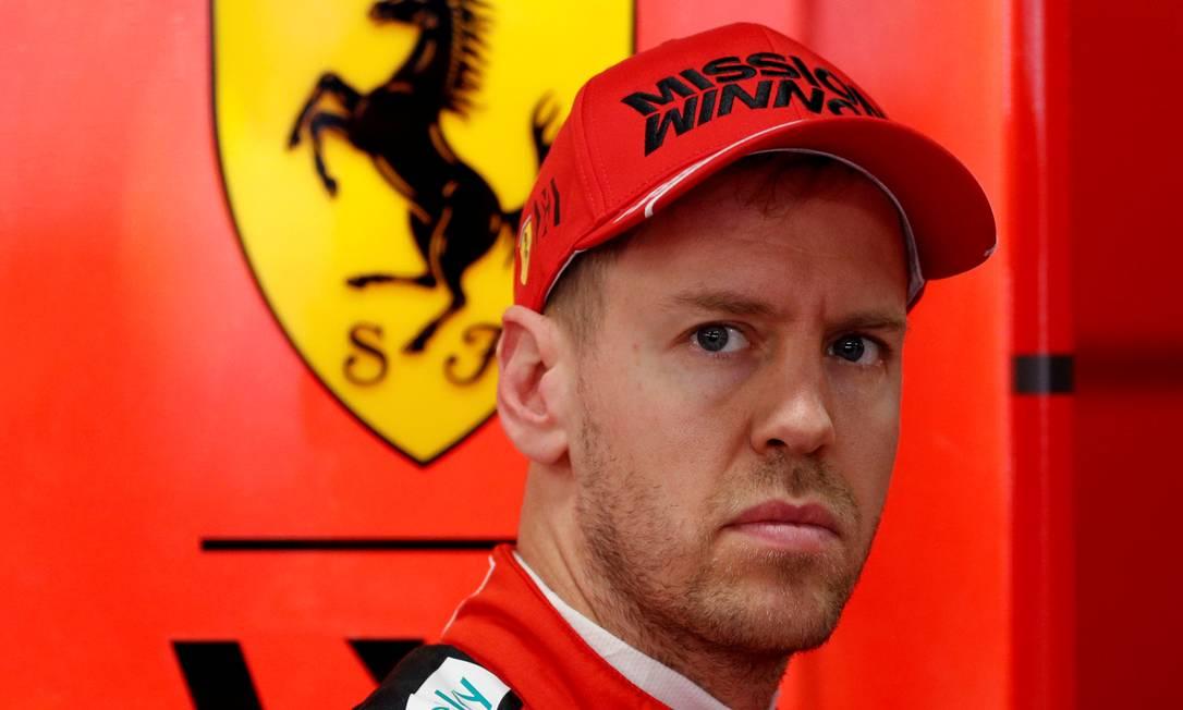 Sebastian Vettel deixará a Ferrari ao fim de 2020 Foto: Albert Gea / REUTERS