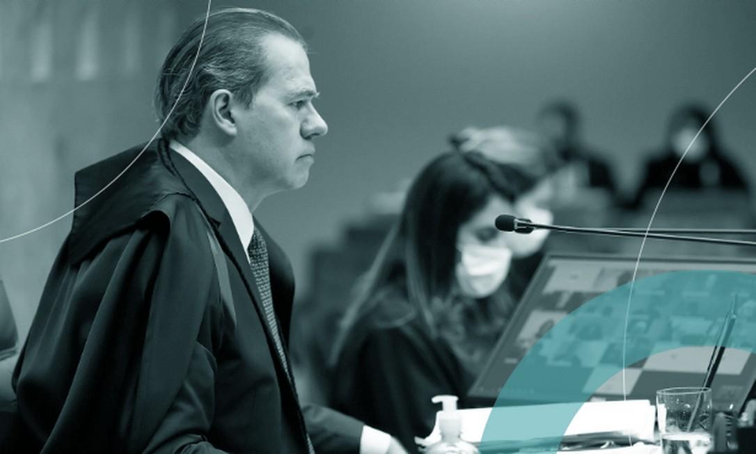 Dias Toffoli preside sessão do STF por teleconferência:
