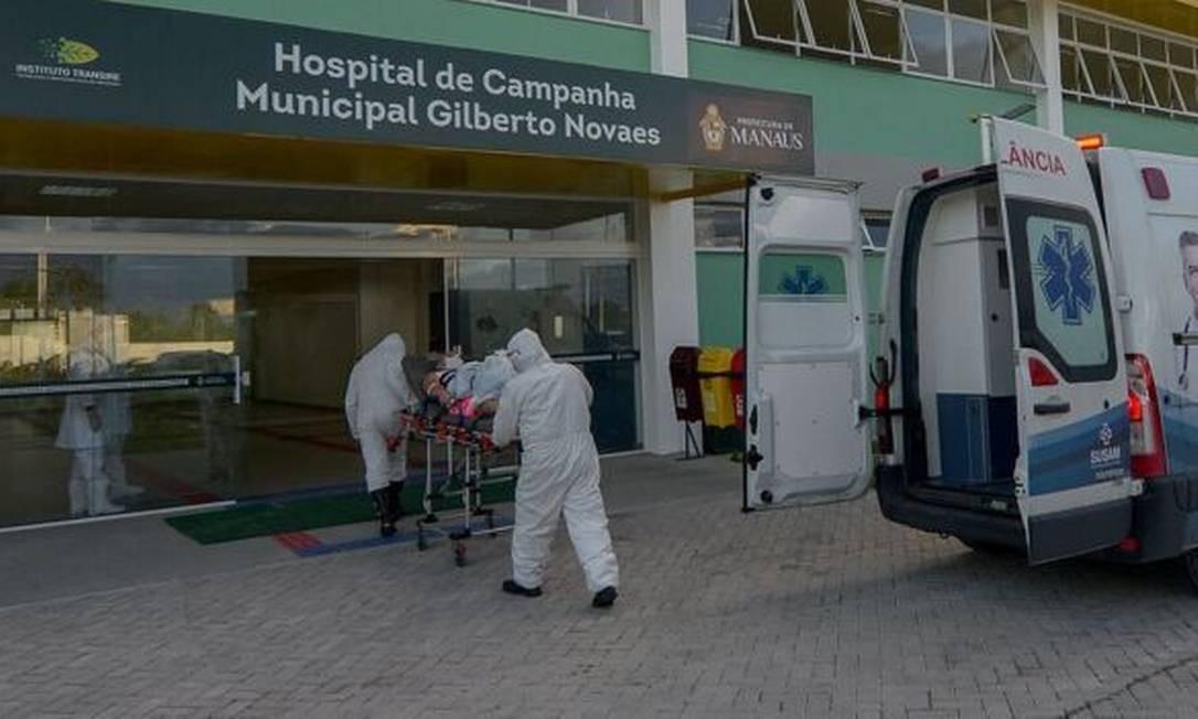 Brasil registrou 31,7 mil profissionais de saúde infectados pela...