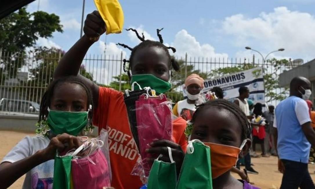 O continente africano tem até agora cerca de 55 mil casos confirmados de infecções pelo coronavírus Foto: Getty Images