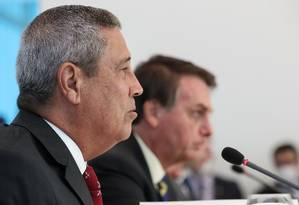 O ministro da Casa Civil, Braga Netto. Foto: Marcos Corrêa/PR