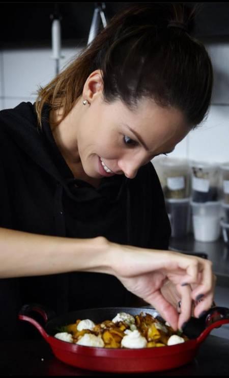 Do refinado Riso.e.ria (especializado em arroz), em São Paulo, a chef Tássia Magalhães Foto: Divulgação