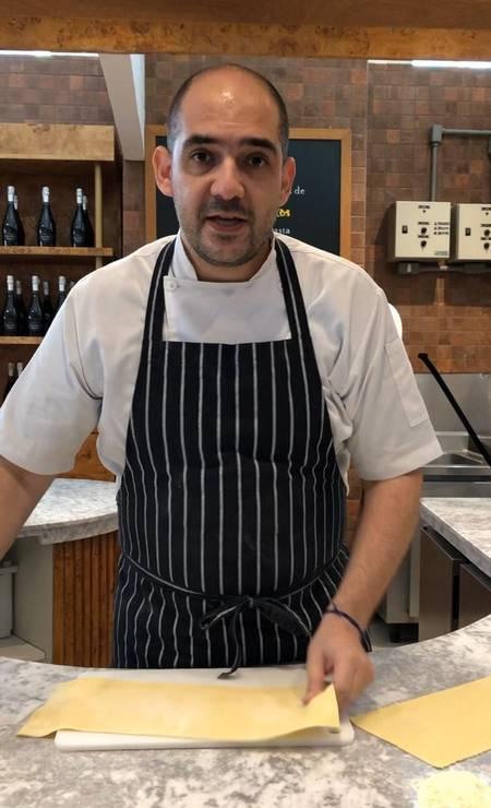 O chef executivo José Barattino, do Eataly Foto: Divulgação