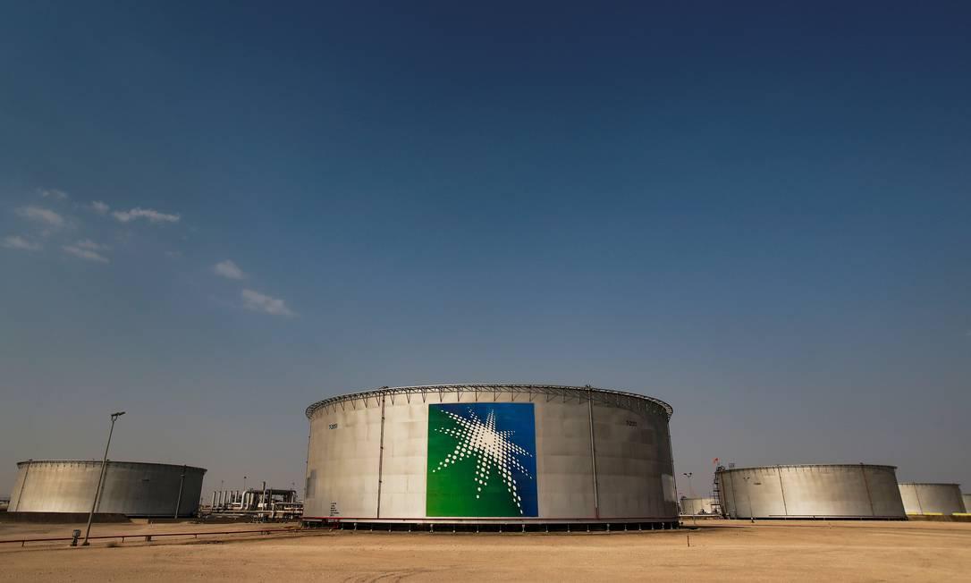 A Saudi Aramco prevê redução das receitas para este ano Foto: Maxim Shemetov / REUTERS