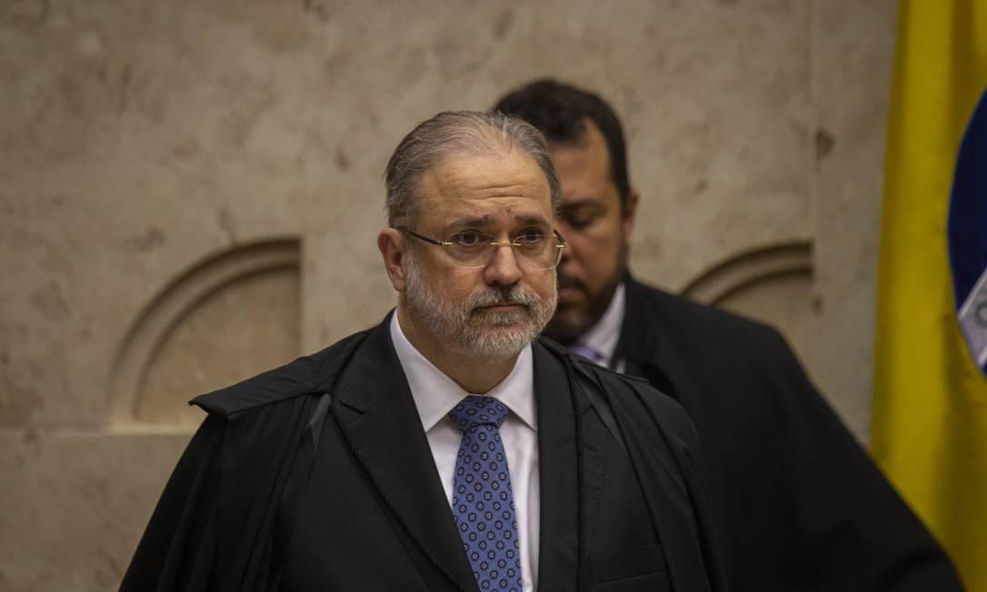 O procurador-geral da República, Augusto Aras 23/10/2019 Foto: Daniel Marenco / Agência O Globo