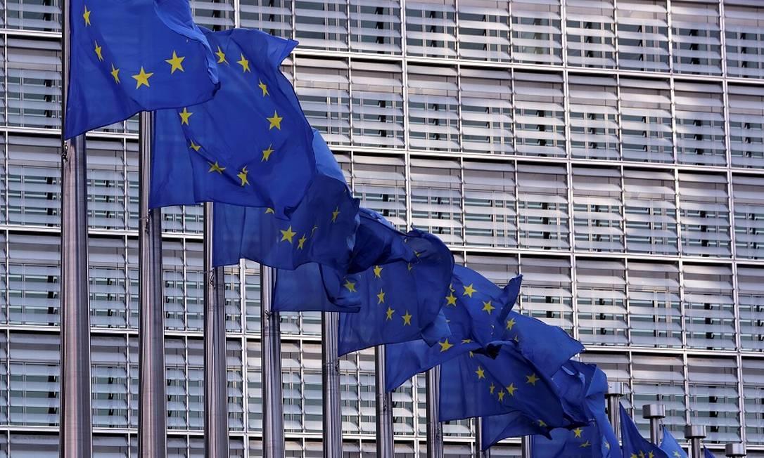 União Europeia: crise do coronavírus abate indústria. Foto: Yves Herman / REUTERS