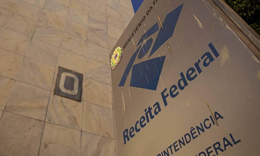 Receita Federal: arrecadação tem queda recorde Foto: Daniel Marenco / Agência O Globo