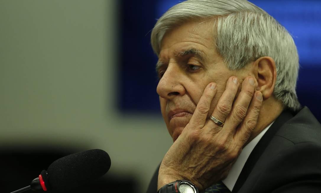 General Augusto Heleno, ministro do Gabinete de Segurança Institucional Foto: Jorge William / Agência O Globo