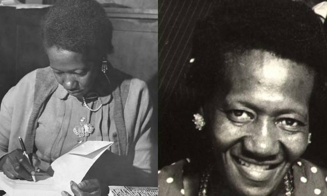 """A escritora Carolina Maria de Jesus, cujo livro """"Quarto de Despejo"""" completa 60 anos Foto: Reprodução"""