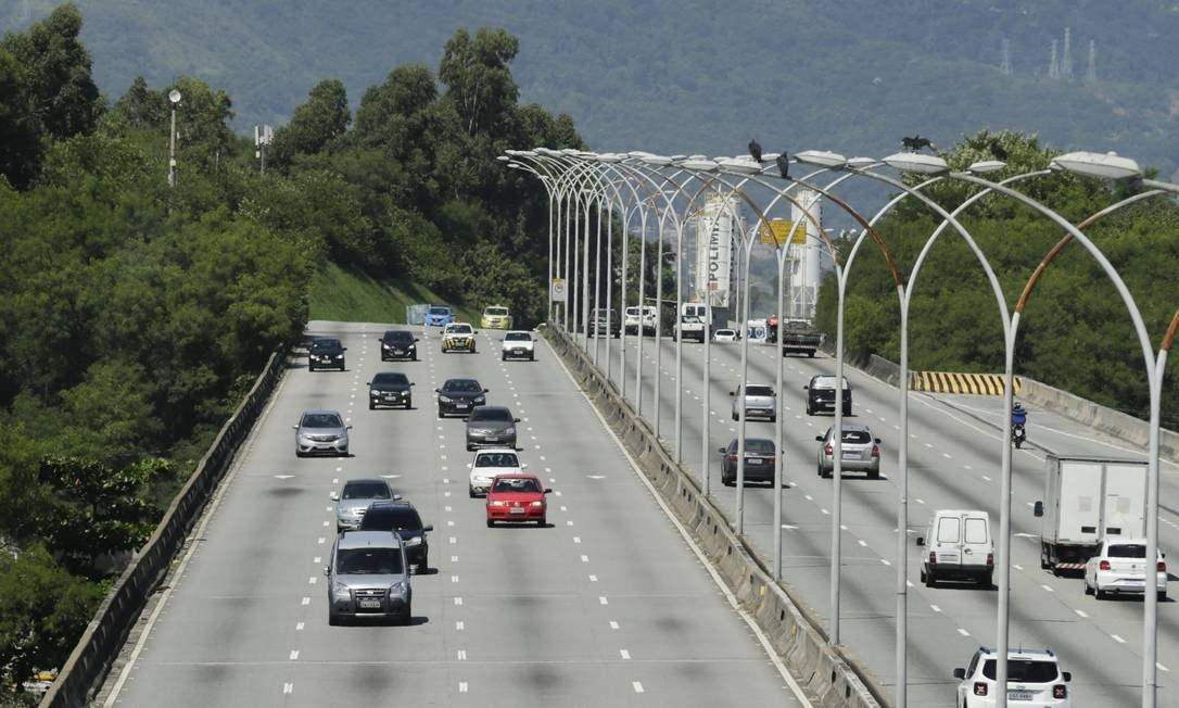 Queda no número de vítimas de acidentes de trânsito ocorreu durante quarentena Foto: Gabriel de Paiva/6-4-2020 / Agência O Globo