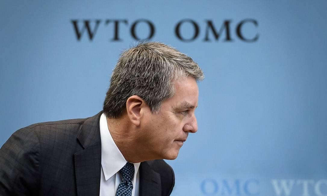 Azevêdo anuncia saída da OMC um ano antes do fim do mandato Foto: FABRICE COFFRINI / AFP