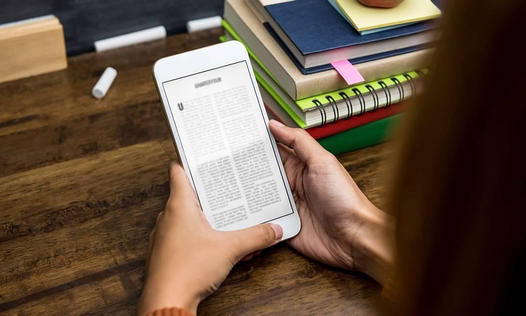 Senac oferece biblioteca digital com mais de 600 títulos gratuitos Foto: Divulgação Senac