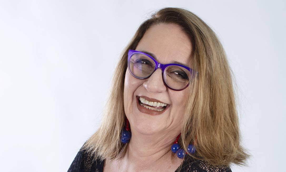 A atriz Rosane Gofman aposta que a arte vai se reinventar após a pandemia Foto: Nanah Garcia / Divulgação