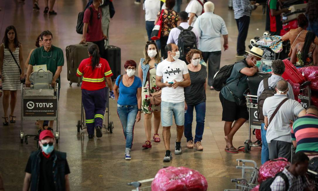Distanciamento social e tecnologia serão as marcas do pós-pandemia, avaliam especialistas e empresários Foto: Rodrigo Paiva / Getty Images