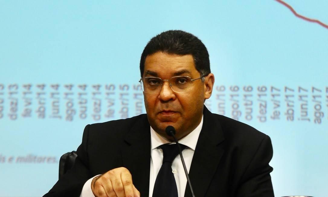 O secretário do Tesouro, Mansueto Almeida: Foto: Ruy Baron / Agência O Globo