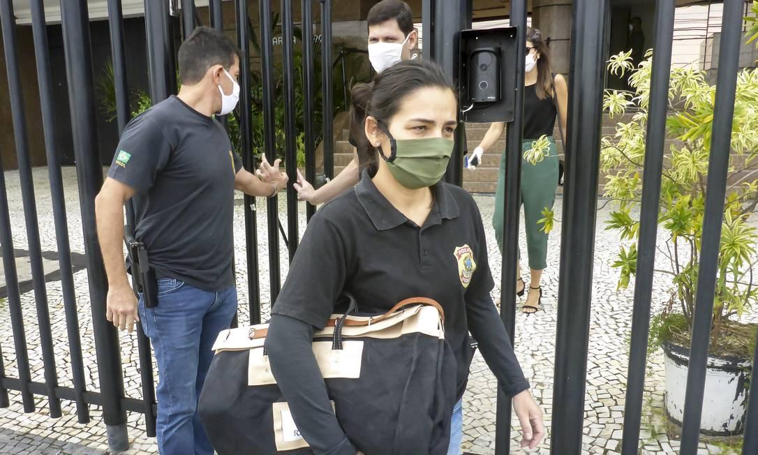 Investigações referem-se a desvios em contratos na área da saúde envolvendo organizações sociais Foto: Gabriel de Paiva / Agência O Globo